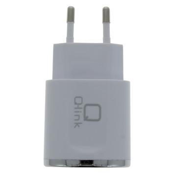 Chargeur 2x USB Q-link blanc