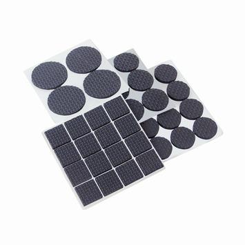 Assortiment anti-krasvilt zwart 45 stuks