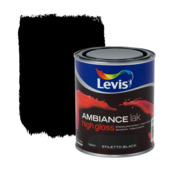 Levis Ambiance lak hoogglans stiletto zwart 750 ml