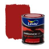 Levis Ambiance lak hoogglans rouge japonais 750 ml