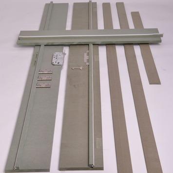Deurkassement MDF hydrofuge onbehandeld dikte 18 mm 201,5 cm hoogte en breedte 30 cm