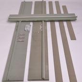 Huisserie en MDF hydrofuge non traité 18 mm 216x30 cm