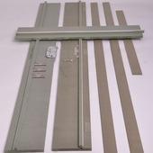 Huisserie en MDF hydrofuge non traité 18 mm 202,2x20 cm