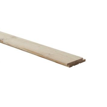 Wood Wall Vuren wandbekleding Driftwood pure FSC 18x83 mm 2,7 m 5 stuks