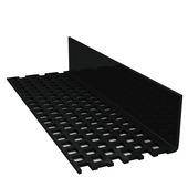 Profilé de ventilation Durasid noir 250 cm