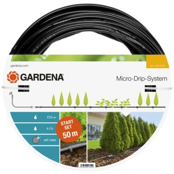 Gardena starterset 50m voor rijplanten