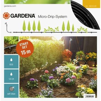 Kit d'initiation Micro-Drip Gardena pour rangées de plantes 15 m