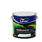 Levis Ambiance muurverf extra mat wit 2,5 L