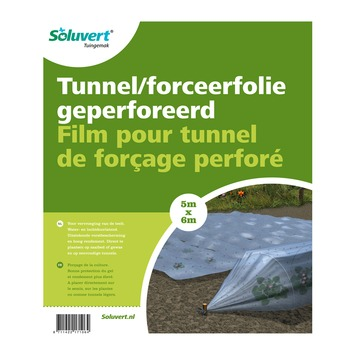 Tunnelfolie geperforeerd 6x5 m