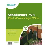 Schaduwnet high 75 1,5x5 m