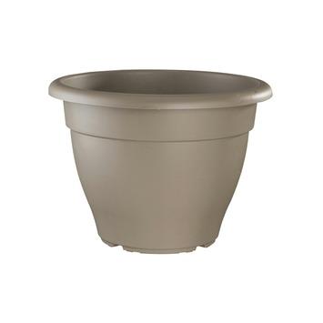 Cache-pot Torino campana Elho 35 cm taupe