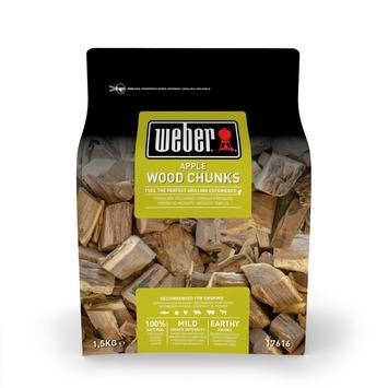 Weber houtblokjes 1,5 kg apple