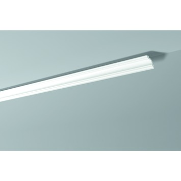 Decoflair sierlijst polystyreen D8 50x50 mm wit 2x2 m