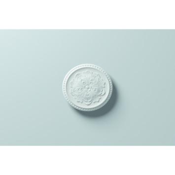 Decoflair rozet polyurethaan M65 Ø 430 mm wit