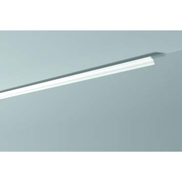 Decoflair sierlijst polystyreen D12 30x30 mm wit 2x2 m