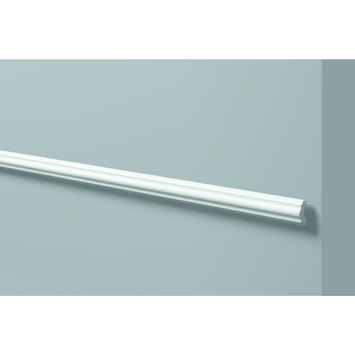 Decoflair kaderlijst hdp CL1 40x15 mm wit 2 m