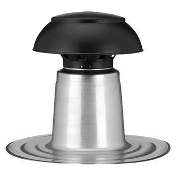 Cheminée de ventilation paroi simple Aquaplan synthétique ø 110/125 mm