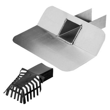 Bac collecteur avec crépine Aquaplan horizontal 45° ø 60/80 mm