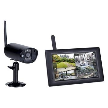 """Kit de surveillance sans fil CS96DVR Smartwares caméra numérique avec écran tactile 7"""""""