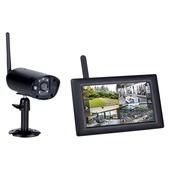 """Smartwares CS96DVR draadloze digitale camera met 7"""" touchscreen"""