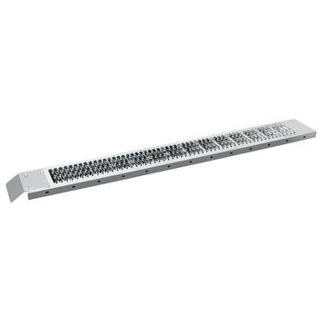 Oprijplaat staal 194x23 cm tot 200 kg 1 stuk
