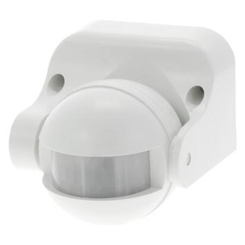 Détecteur de mouvements Q-link 180 degrés1200 W IP44 blanc