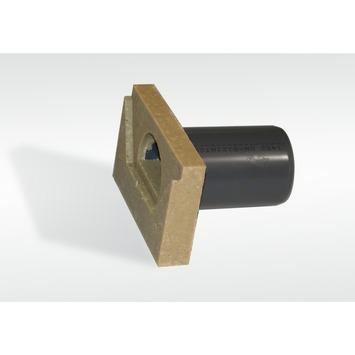 Plaque de finition caniveau super mini avec raccord pour égout