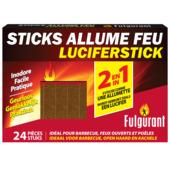 Fulgurant aanmaak luciferblokjes 24 stuks
