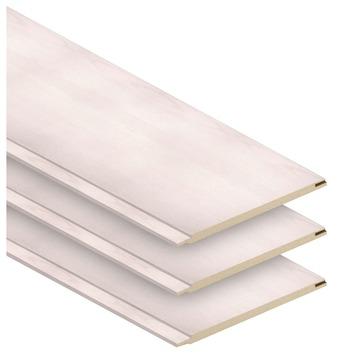 Paneel ecoline neo es wit 129x15 cm, 2,71 m² (bruto) 14 stuks