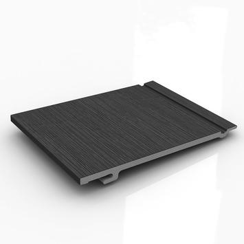 Clin de bardage simple Durasid RAL7016 500x16,7 cm 4 pièces 3,33m²