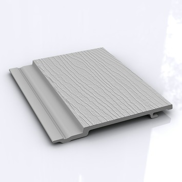 Clin de bardage vertical Durasid RAL7035 500x16,7 cm 4 pièces 3,33m²