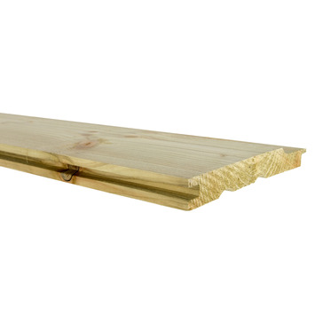 Planche à clins impregnée 1,7x13,5x360 cm