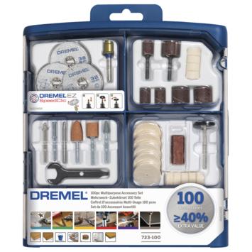 Jeu d'accessoires Dremel S723JA 100 pièces