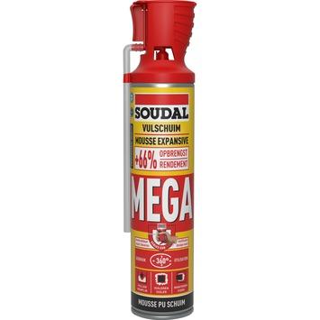 Mousse PU Soudal mega 600 ml