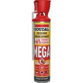 Mousse PU Soudal mega 600 ml