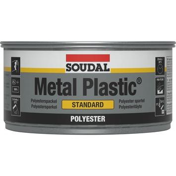 Soudal Metal Plastic polyester plamuur 250 g