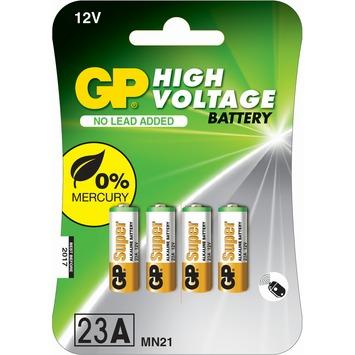 Pile high voltage  GP 12 V pour télécommande  4 pièces
