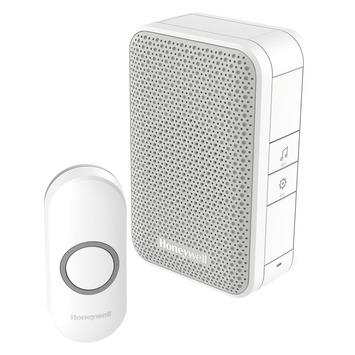 Sonnette sans fil avec bouton Honeywell portée 150 m blanc