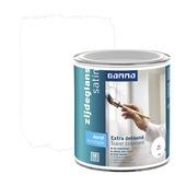 GAMMA Extra Dekkend acryllak zijdeglans wit 750 ml