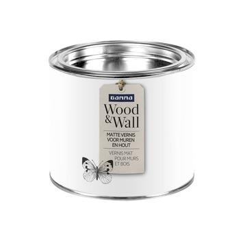 Wood&Wall matte vernis voor muren en hout kleurloos 500 ml