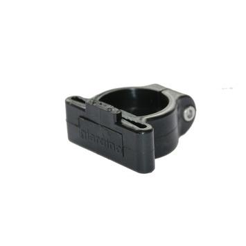 Plastiek hoekklem vr 48mm profielpaal RAL 9005 per 6 st