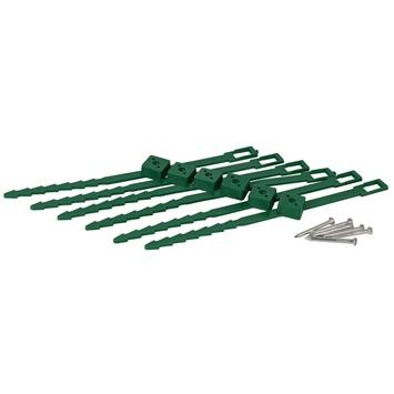 Klimplantgeleiders 25-45 mm 6 stuks