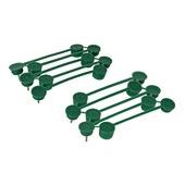 Plantenklemmen groen 15 mm 15 stuks