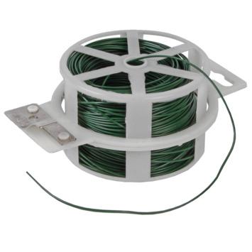 Metaaldraad geplastificeerd 1,2 mm 50 m groen