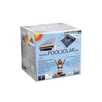 Zonnecollector zwembad 4st 33x300 cm 4m³