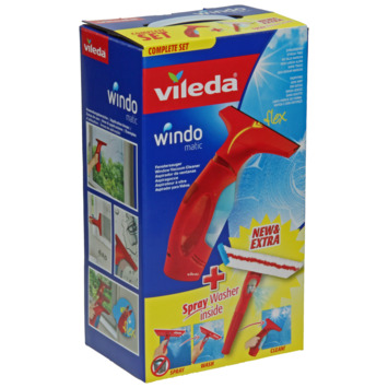 Windomatic Vileda Aspirateur à Vitres Set Complet & spray wash