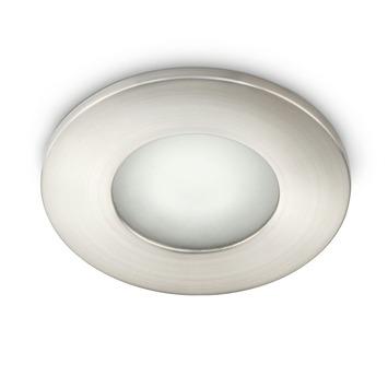 Spot à encastrer Wash Philips myBathroom GU10 max. 35W chrome mat ampoule non fournie