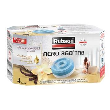 Rubson vochtopnemer aero 360° navulling tab vanille 4 x 450 g