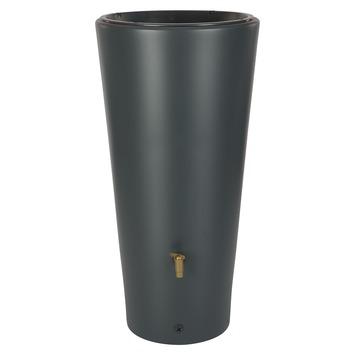Garantia Regenton met Plantenbak Vaso antraciet 220 Liter