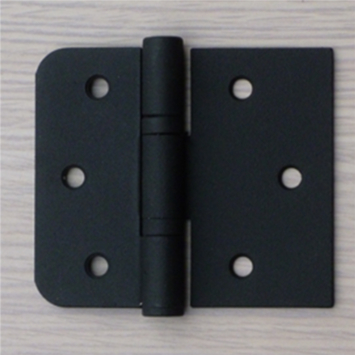 Charnière pour porte noir 3 pièces